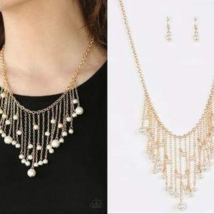 Faux Pearl Necklace Set - Fashion Accessories